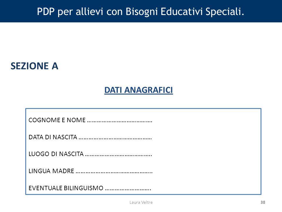38 PDP per allievi con Bisogni Educativi Speciali.