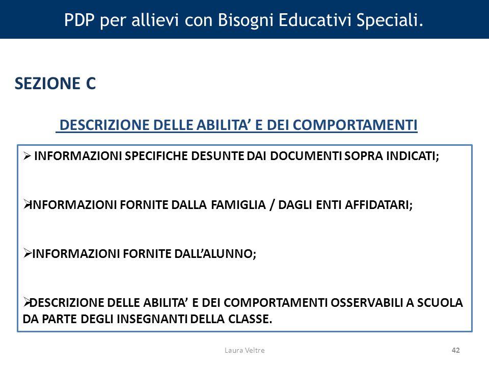 42 PDP per allievi con Bisogni Educativi Speciali.