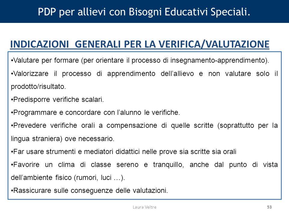 53 PDP per allievi con Bisogni Educativi Speciali.