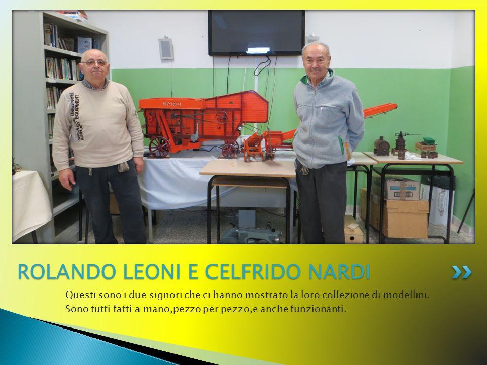 Questi sono i due signori che ci hanno mostrato la loro collezione di modellini. Sono tutti fatti a mano,pezzo per pezzo,e anche funzionanti. ROLANDO