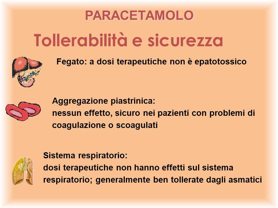 Fegato: a dosi terapeutiche non è epatotossico Aggregazione piastrinica: nessun effetto, sicuro nei pazienti con problemi di coagulazione o scoagulati