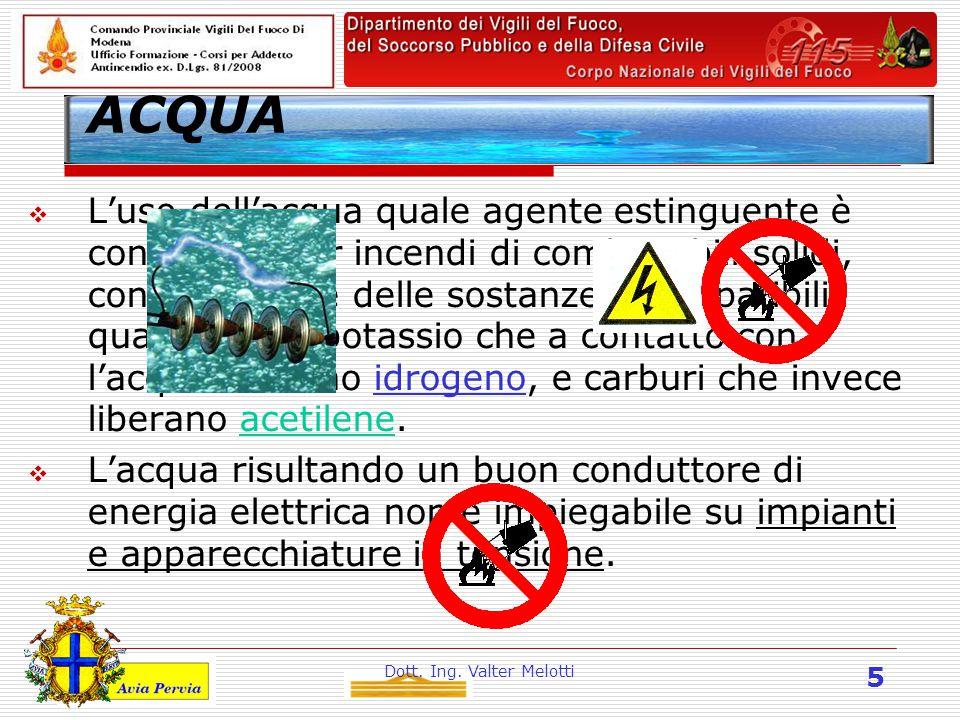 Dott.Ing. Valter Melotti 26 Prevenzione Incendi.