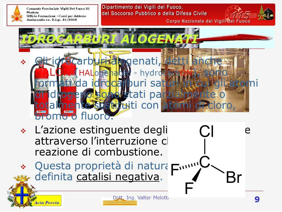 Dott.Ing. Valter Melotti 30 Impianti parafulmine.