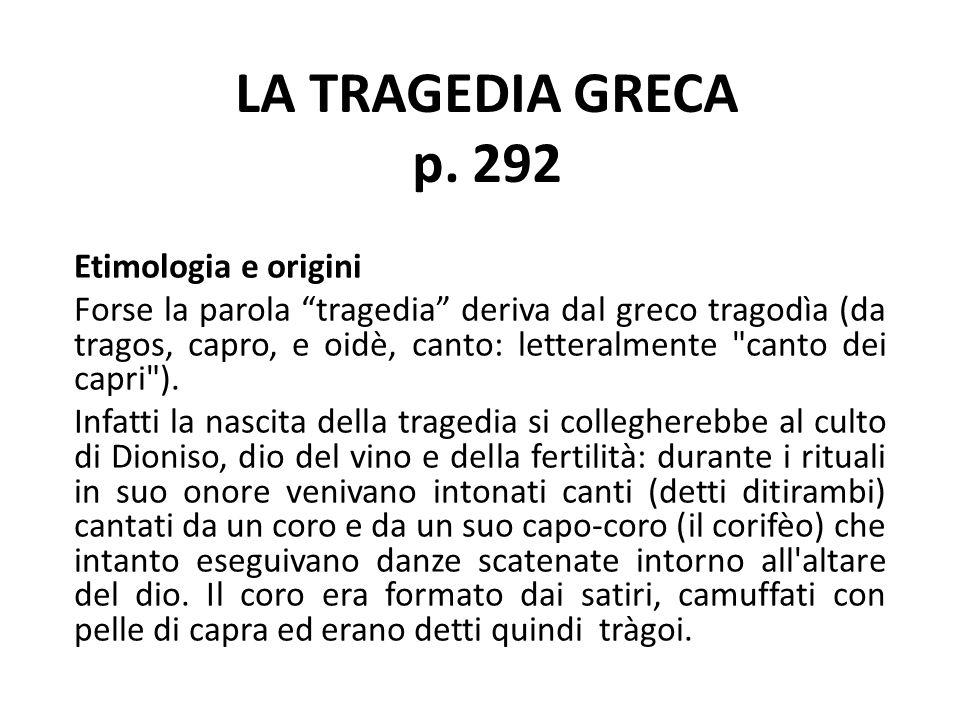 LA TRAGEDIA GRECA p.