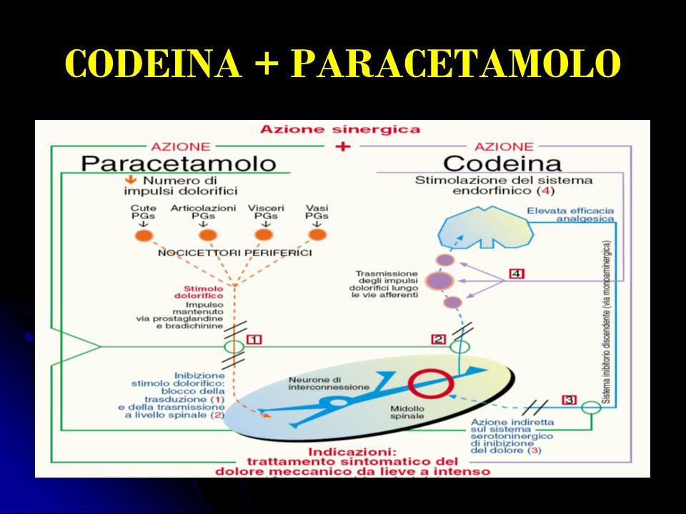 CODEINA + PARACETAMOLO