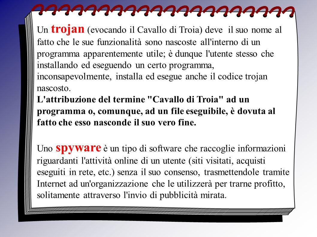 In un senso più ampio, il termine spyware è spesso usato per definire un ampia gamma di malware dalle funzioni più diverse, quali l invio di pubblicità non richiesta ( spam ), la modifica della pagina iniziale o della lista dei Preferiti del browser attività illegali quali la redirezione su falsi siti di e-commerce ( phishing ) l installazione di dialer truffaldini per numeri a tariffazione speciale ( dialer letteralmente compositori di numeri telefonici, rappresentano in ambito commerciale un tramite per accedere a servizi a sovrapprezzo o a tariffazione speciale.