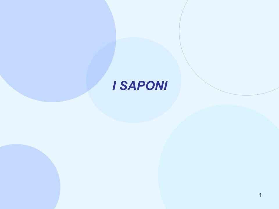 1 I SAPONI