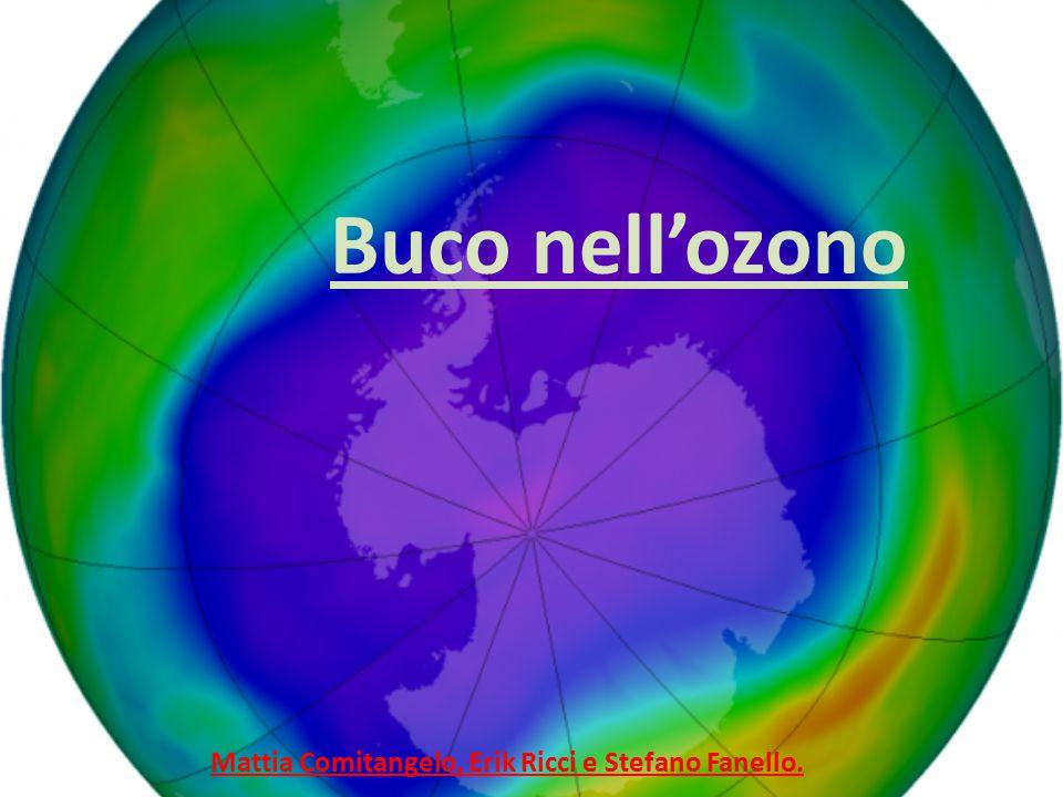 Buco nell'ozono Mattia Comitangelo, Erik Ricci e Stefano Fanello.
