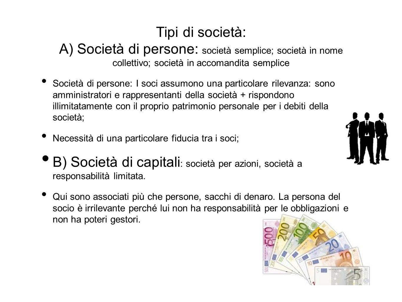 Società semplici Quali sono i vantaggi.