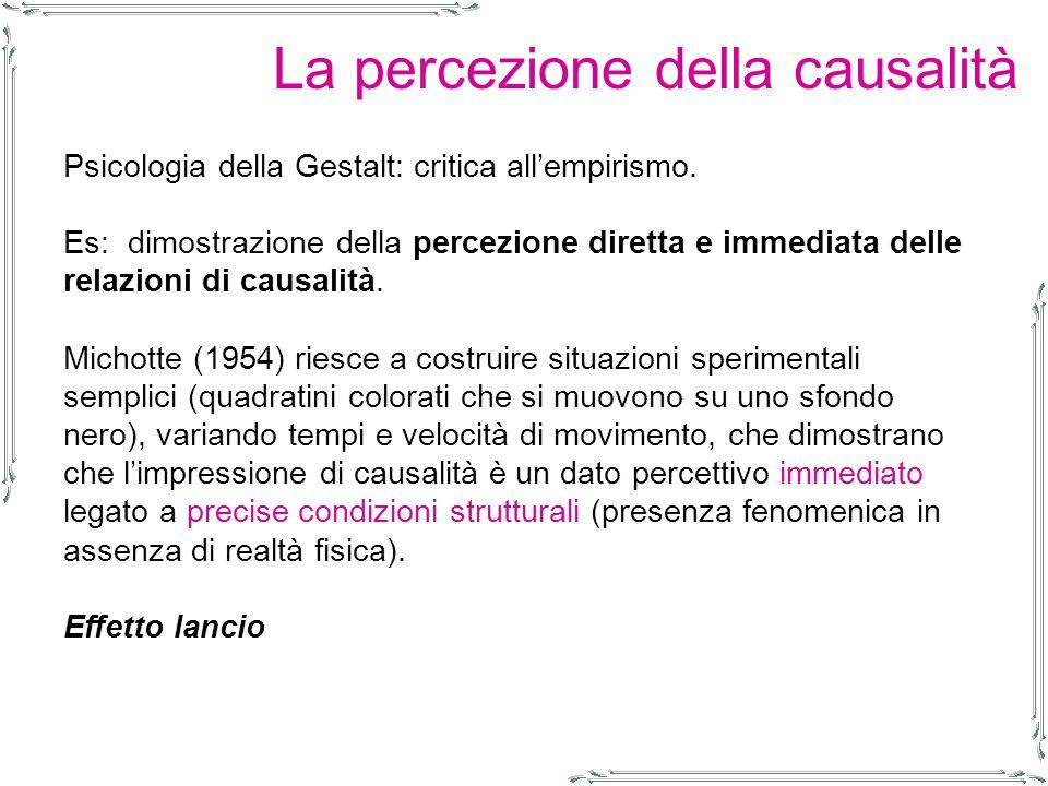 Psicologia della Gestalt: critica all'empirismo.