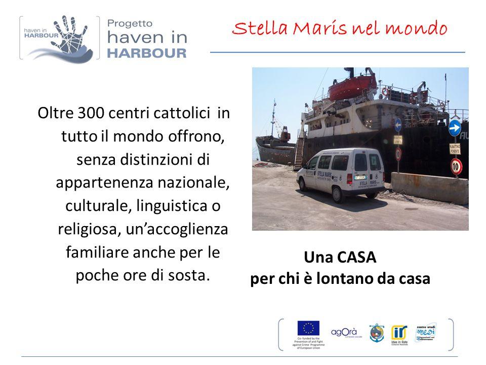 Oltre 300 centri cattolici in tutto il mondo offrono, senza distinzioni di appartenenza nazionale, culturale, linguistica o religiosa, un'accoglienza