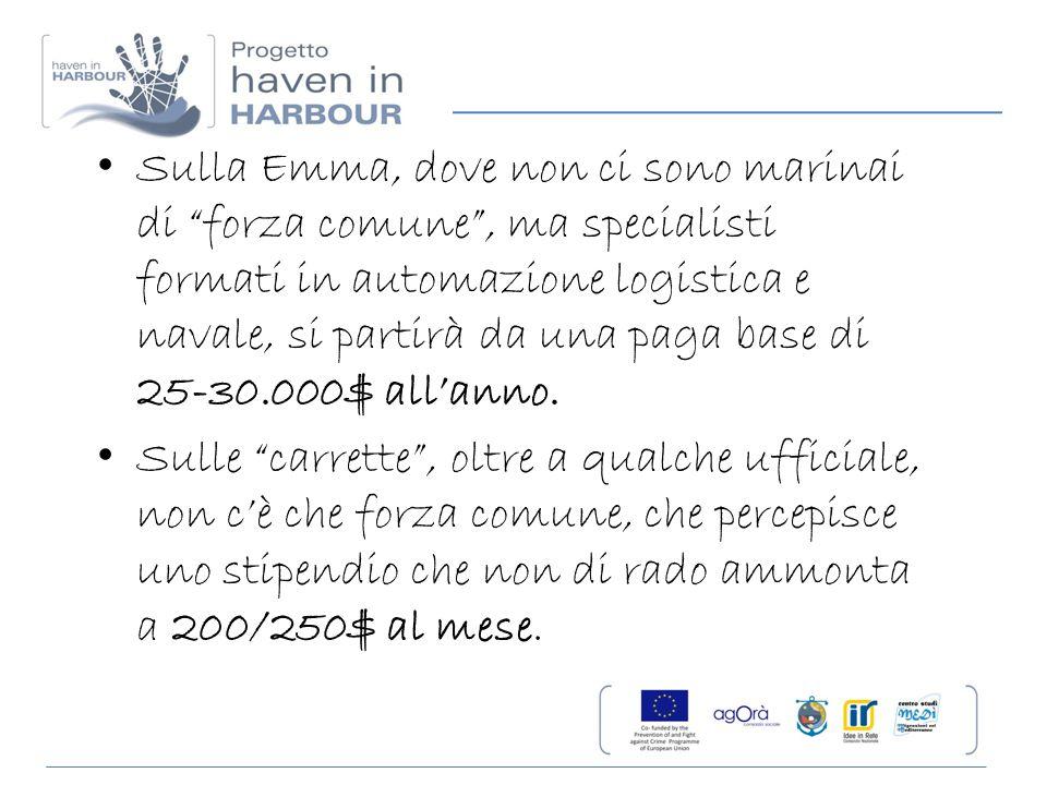 7 – Composizione transiti dei marittimi extracomunitari per tipologia di nave (dati nazionali) I marittimi extracomunitari sono per la maggior parte asiatici o europei