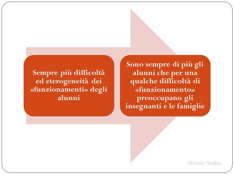 Sempre più difficoltà ed eterogeneità dei «funzionamenti» degli alunni Sono sempre di più gli alunni che per una qualche difficoltà di «funzionamento»