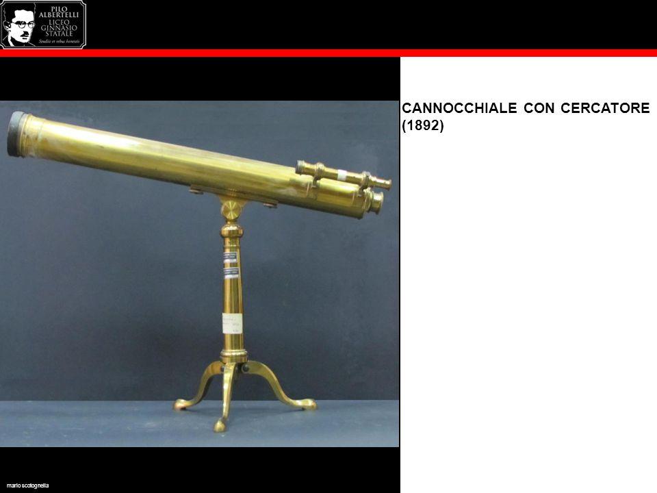 CANNOCCHIALE CON CERCATORE (1892) mario scotognella
