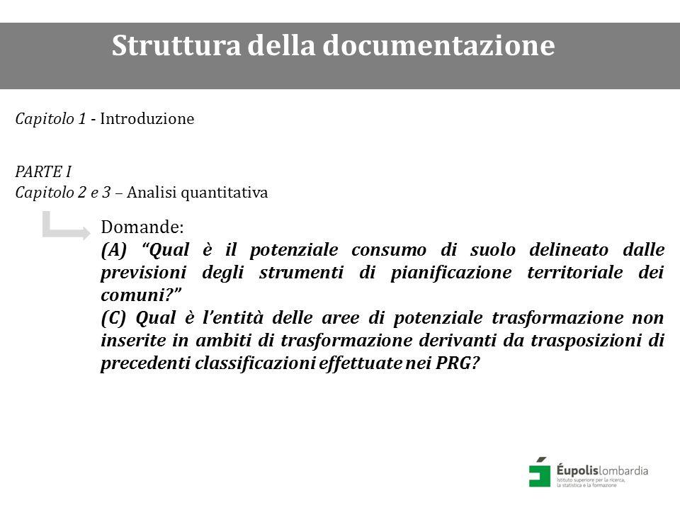PARTE II Capitolo 4 – Analisi qualitativa di un campione di PGT Domande: (B) Con quali finalità sono state programmate le espansioni previste dagli strumenti di pianificazione territoriale dei comuni.
