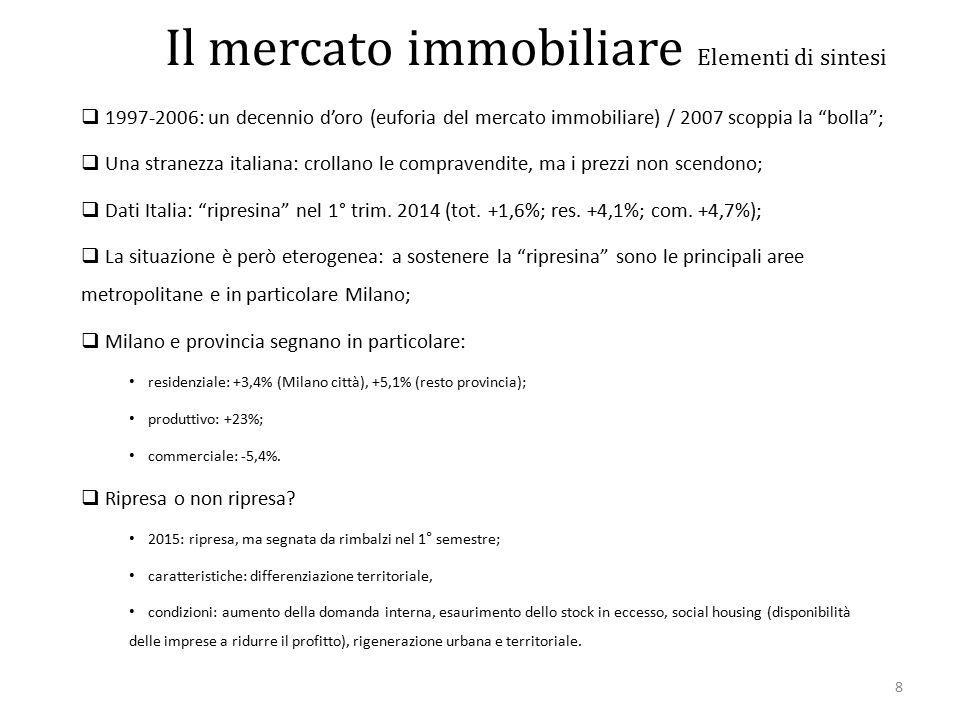 99 Dinamiche demografiche e consumo di suolo periodo 2007/2012 - residenziale Polarità emergenti – PTR 2010
