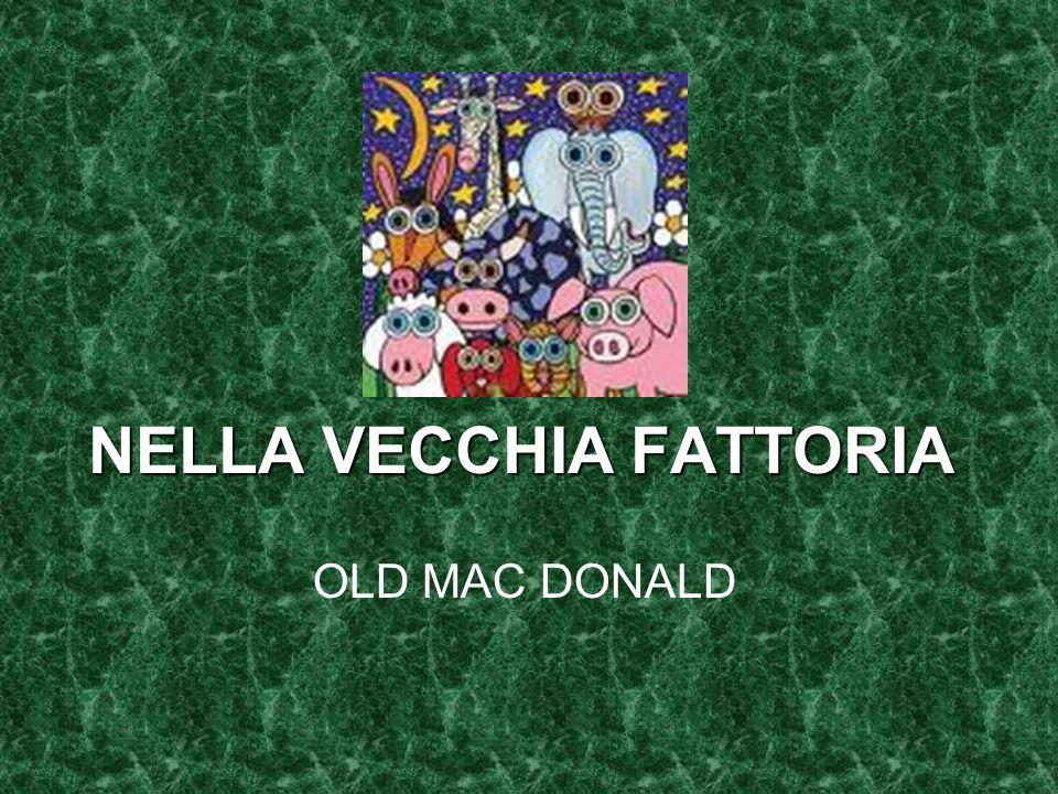 NELLA VECCHIA FATTORIA OLD MAC DONALD