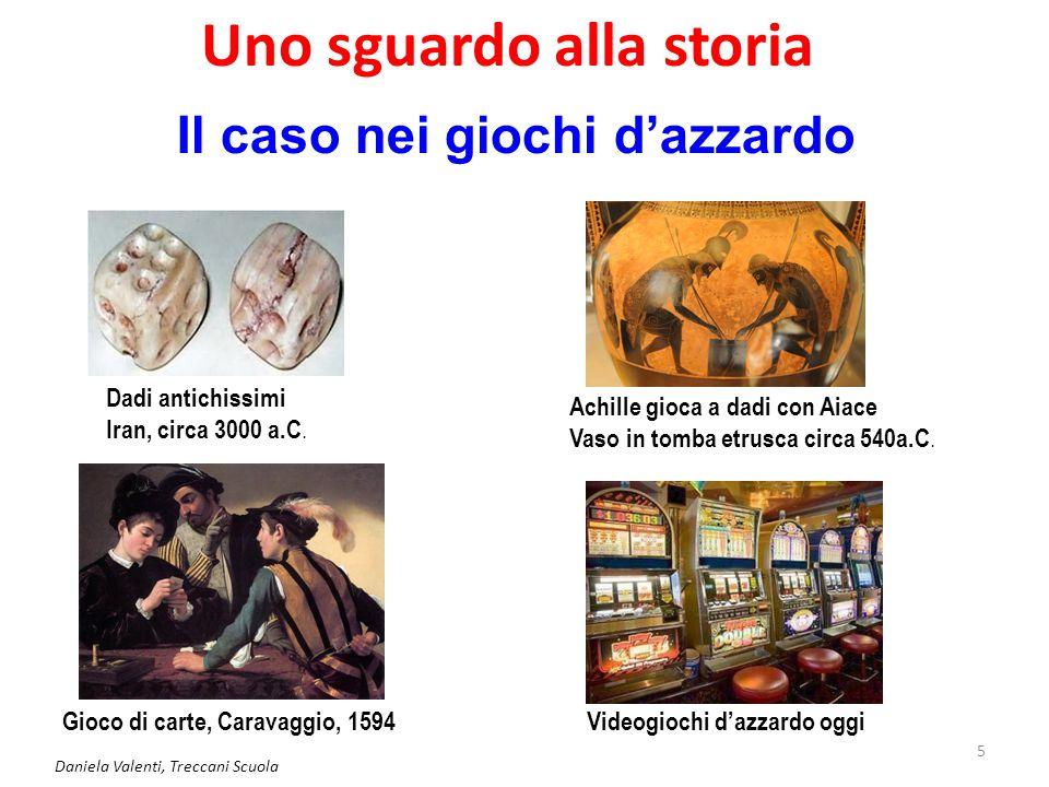 Daniela Valenti, Treccani Scuola 6 Nasce il calcolo delle probabilità Da questo groviglio secolare di esoterismo, magia, passioni per i giochi d'azzardo, … nasce in Europa il calcolo delle probabilità.