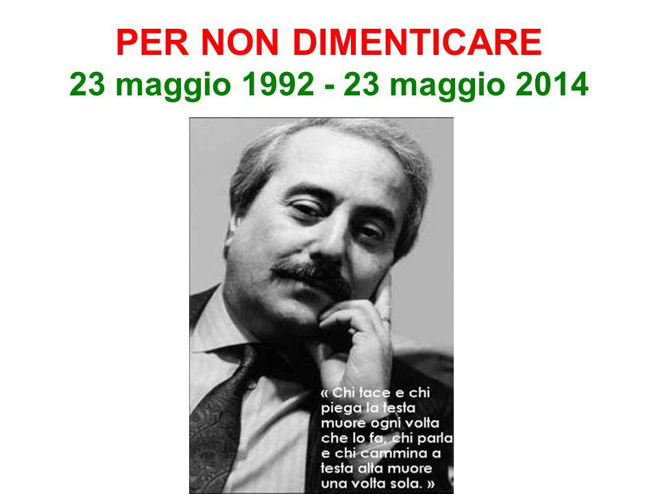 LICEO LINGUISTICO GIOVANNI FALCONE - Bergamo La mafia non è affatto invincibile, è un fatto umano e come tutti i fatti umani ha un inizio e avrà anche una fine Giovanni Falcone 23 maggio 1992 23 maggio 2012