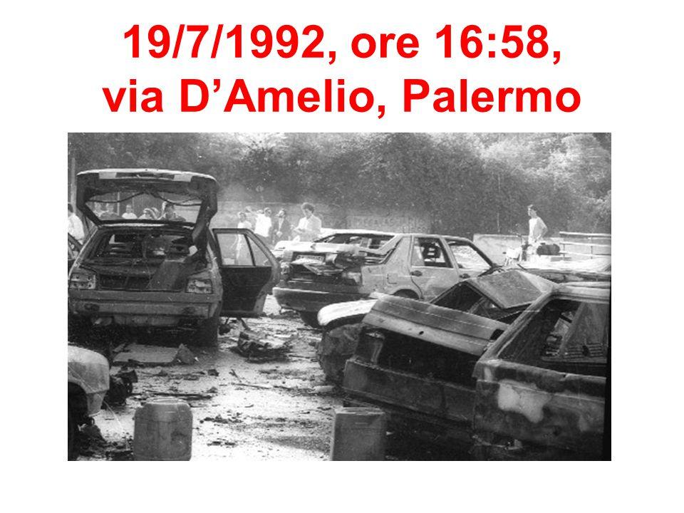 19/7/1992, ore 16:58, via D'Amelio, Palermo