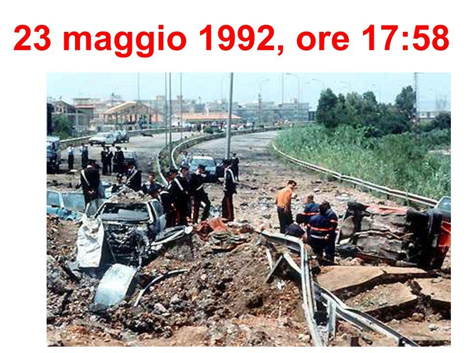 23 maggio 1992, ore 17:58