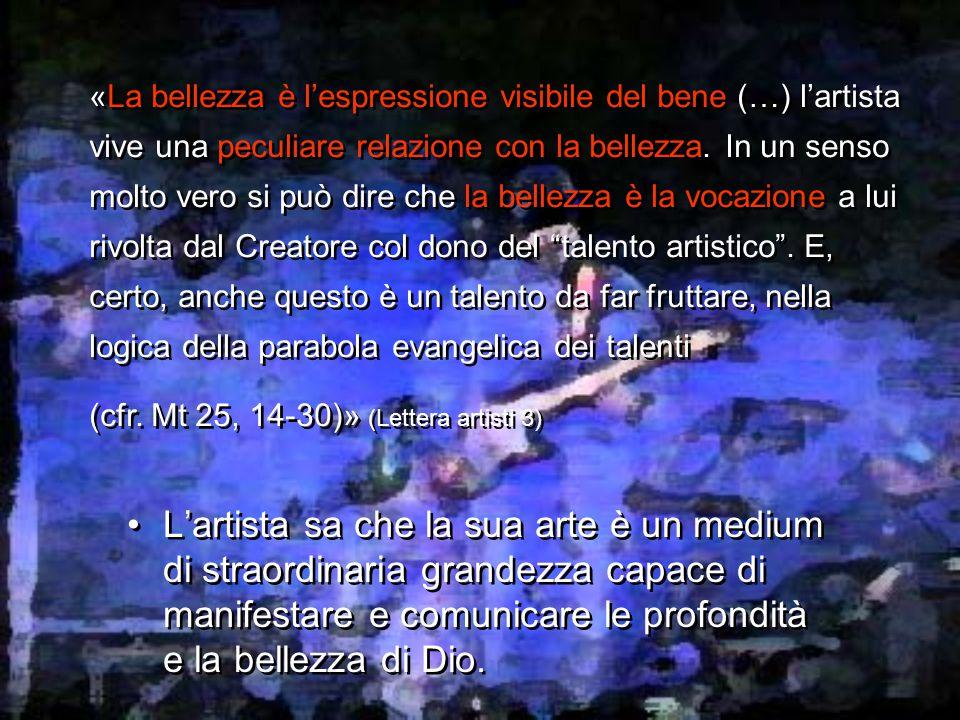 Chiara Lubich: Dio Bellezza e il Movimento dei Focolari «Ogni opera d'arte è come una sorta di INCARNAZIONE.