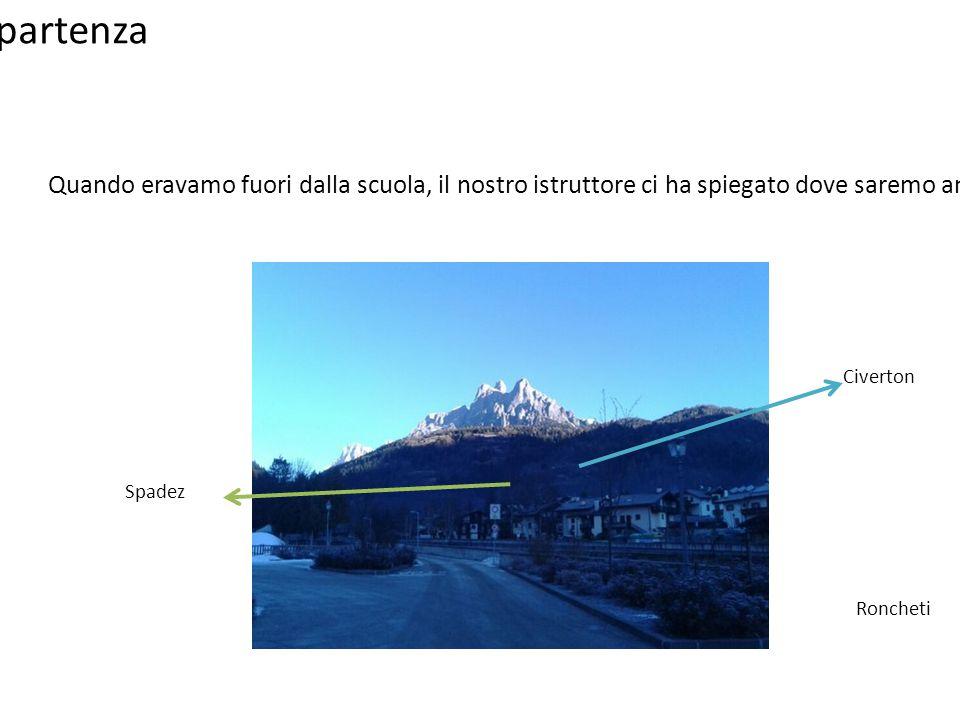 Rio Lazer, Teniaghi Il Rio Lazer e i Teniaghi si trovano a circa 700m di altezza.