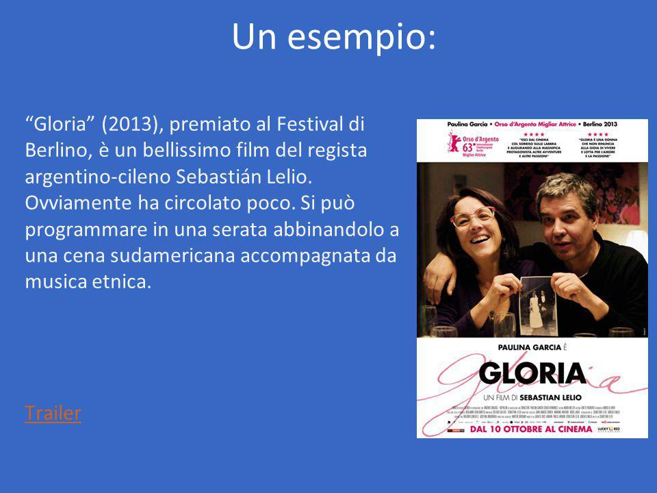 Gloria (2013), premiato al Festival di Berlino, è un bellissimo film del regista argentino-cileno Sebastián Lelio.