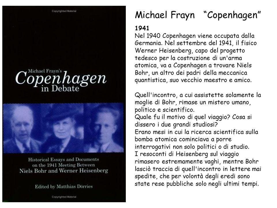 1941 Nel 1940 Copenhagen viene occupata dalla Germania.