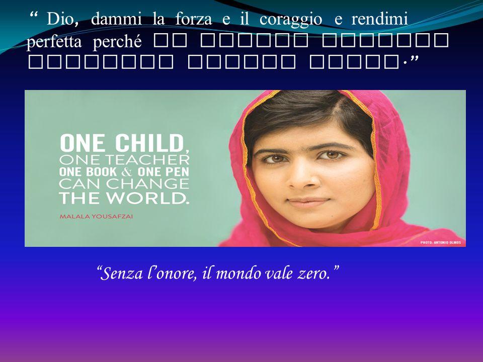 La mia battaglia per la libertà e l'istruzione della donne «Sedermi a scuola a leggere libri è un mio diritto. Vedere ogni essere umano sorridere di f