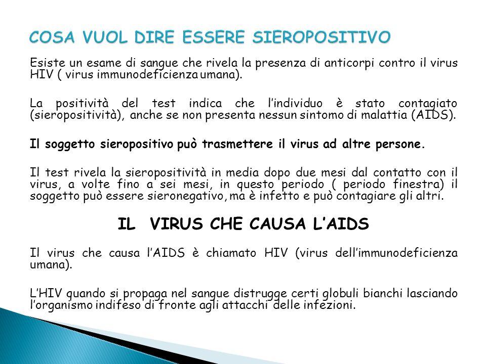 Chiunque abbia contratto il virus può trasmetterlo.