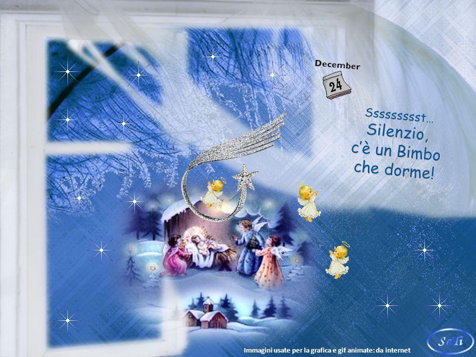 Sssst… Silenzio.Buon Natale a tutti i bambini e a chi bambino, lo è rimasto nel cuore.