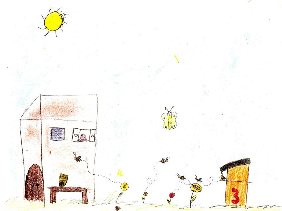 LADRI DI MIELE Nell'alveare le api operaie si danno da fare pulendo e spazzando.