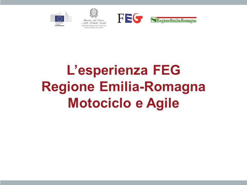 L'esperienza FEG Regione Emilia-Romagna Motociclo e Agile