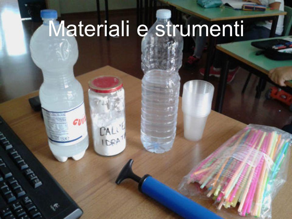 Materiali e strumenti