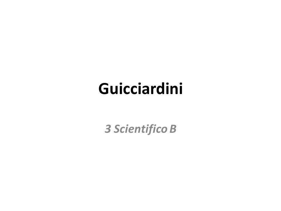 Guicciardini 3 Scientifico B