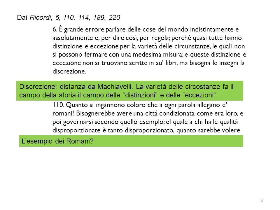 7 Guicciardini: analisi guidata dall'insegnante sul testo: testo graficamente facilitato per DSA 114.