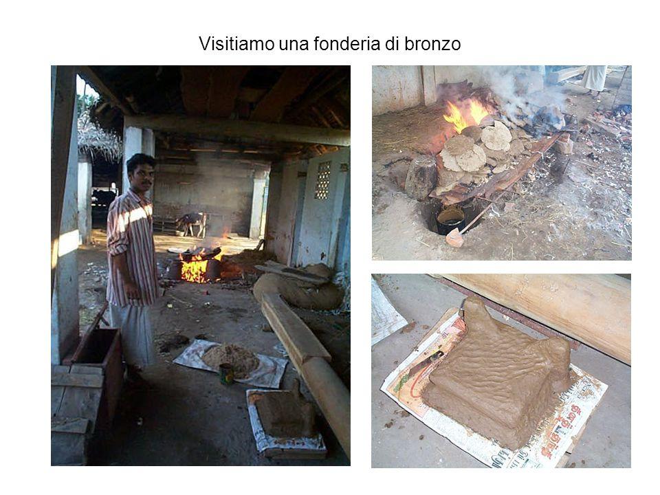 Visitiamo una fonderia di bronzo