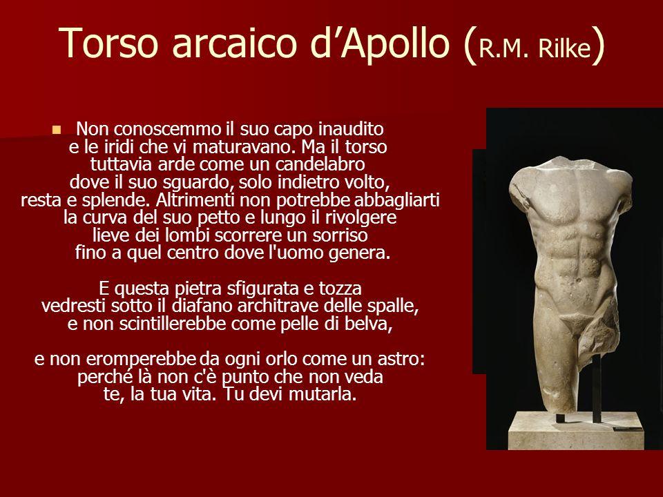Torso arcaico d'Apollo ( R.M.
