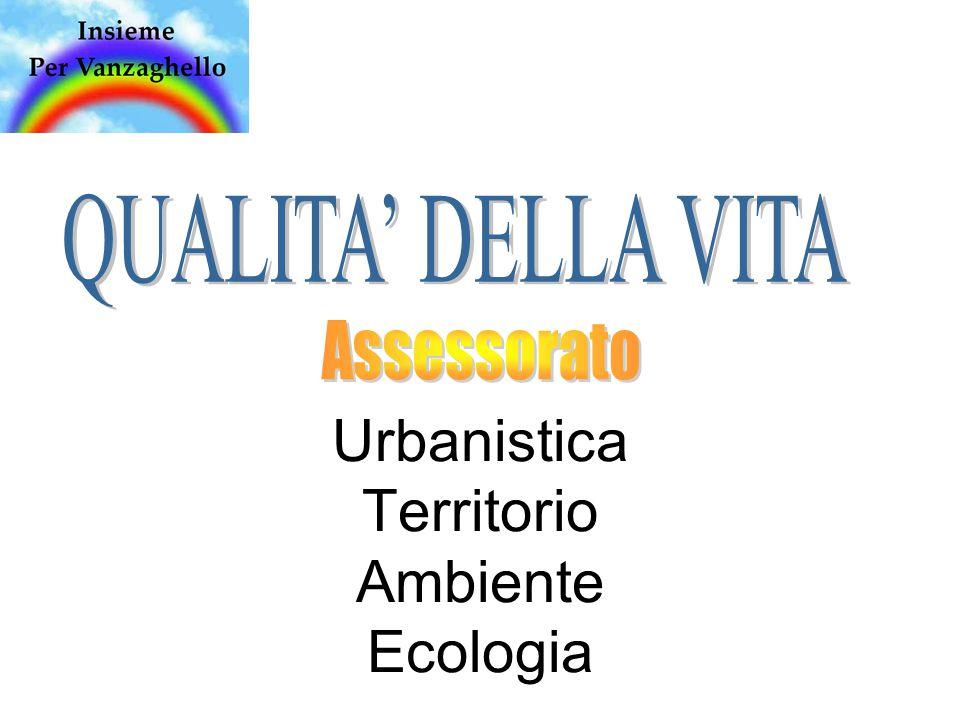 Urbanistica Territorio Ambiente Ecologia