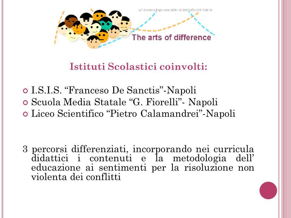 Istituti Scolastici coinvolti: I.S.I.S. Franceso De Sanctis -Napoli Scuola Media Statale G.