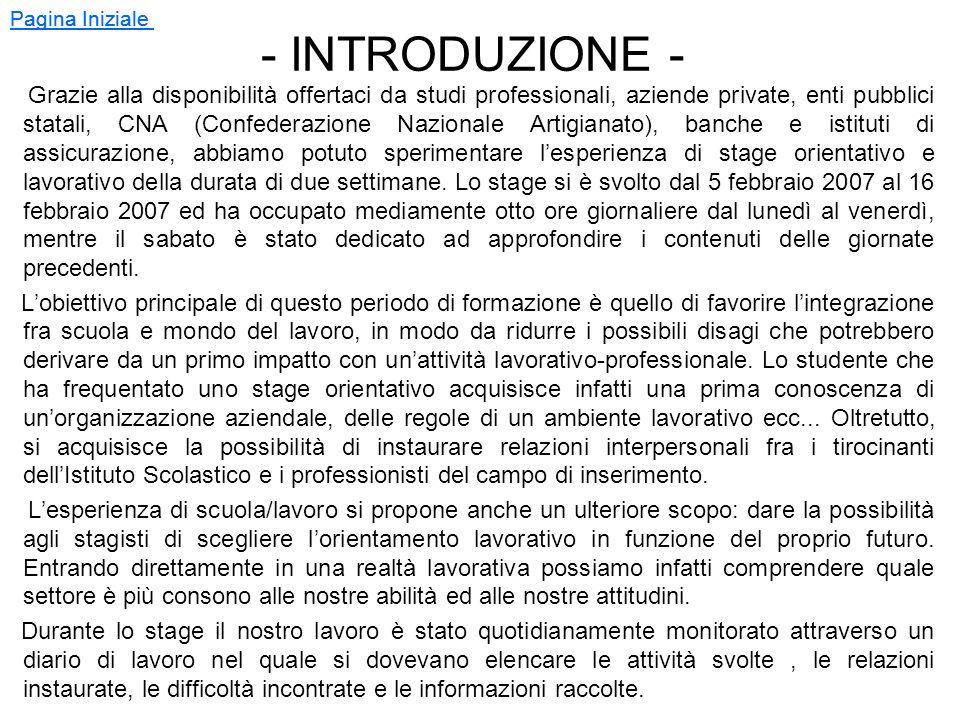 - NORME REGOLATRICI - - ConvenzioneConvenzione - Legge BiagiLegge Biagi