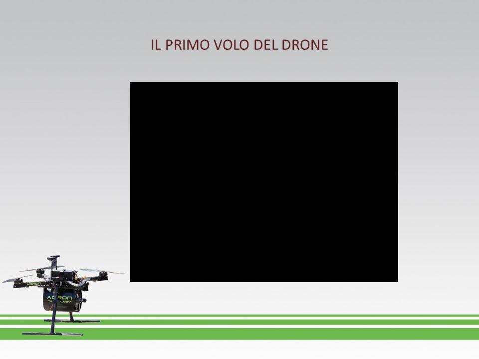 IL PRIMO VOLO DEL DRONE