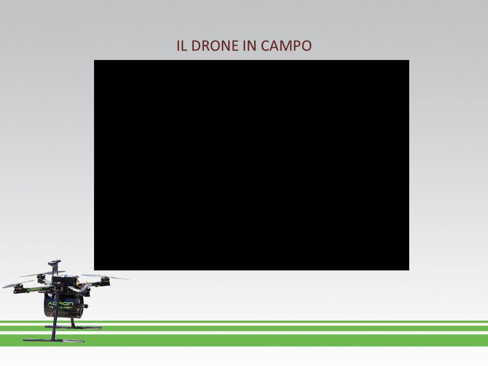 IL DRONE IN CAMPO