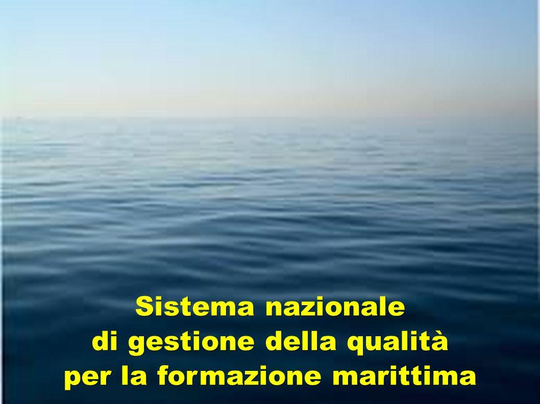 Sistema nazionale di gestione della qualità per la formazione marittima