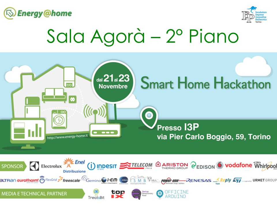 http://www.energy-home.it VENERDI 21 Novembre 17.30 Registrazioni 18.00 Presentazione dell evento e presentazione sponsor 18.30 Energy@home, F.