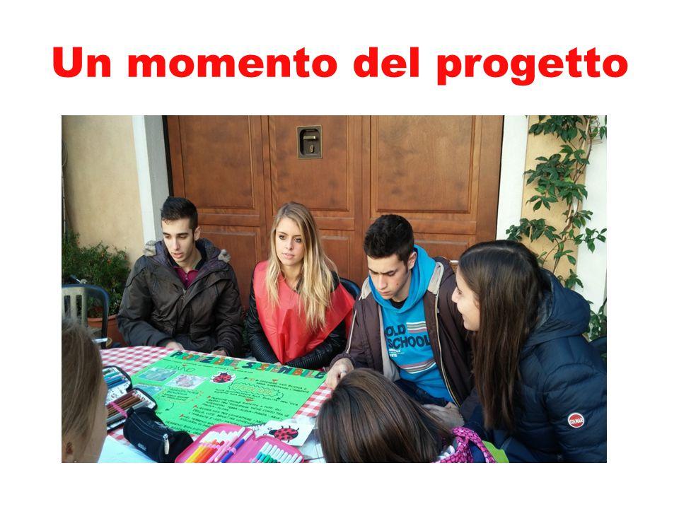 Un momento del progetto