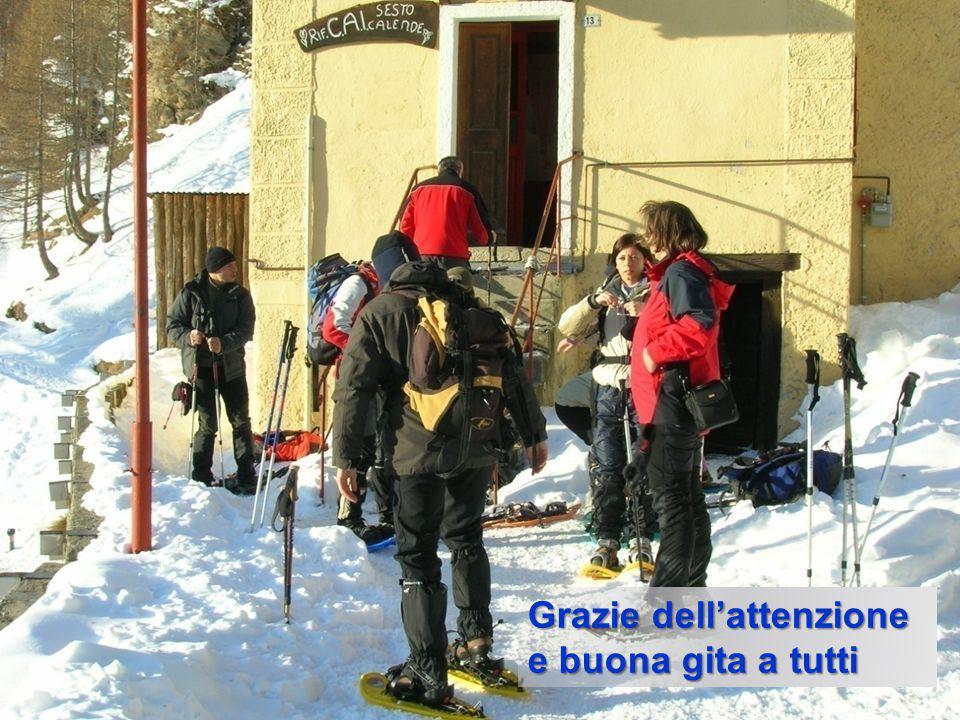 gigi sironi - corso SVI - 16/17 febbraio 2013 - Borgata Chiesa (Val Maira) 45 Grazie dell'attenzione e buona gita a tutti