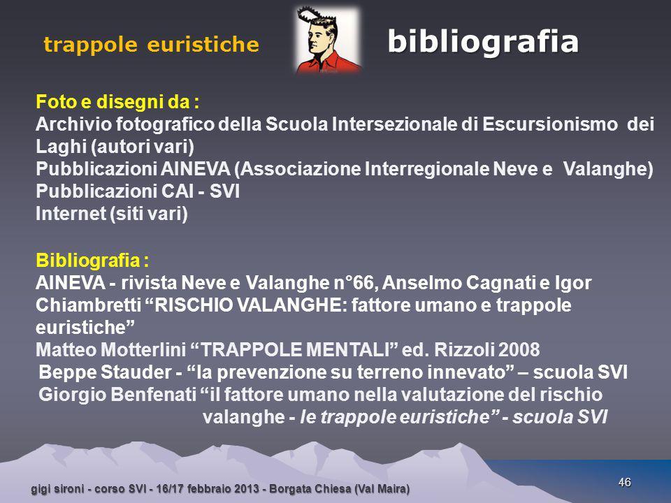 gigi sironi - corso SVI - 16/17 febbraio 2013 - Borgata Chiesa (Val Maira) 46 Foto e disegni da : Archivio fotografico della Scuola Intersezionale di