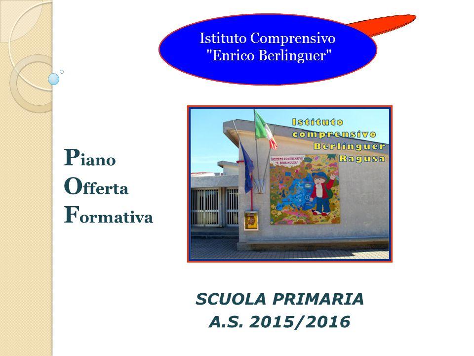 SCUOLA PRIMARIA A.S. 2015/2016 Istituto Comprensivo